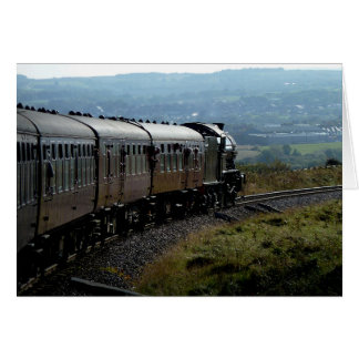 Notecard: Steam Train in Yorkshire Card