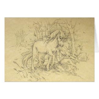 Notecard - Unicorn Fall Hills