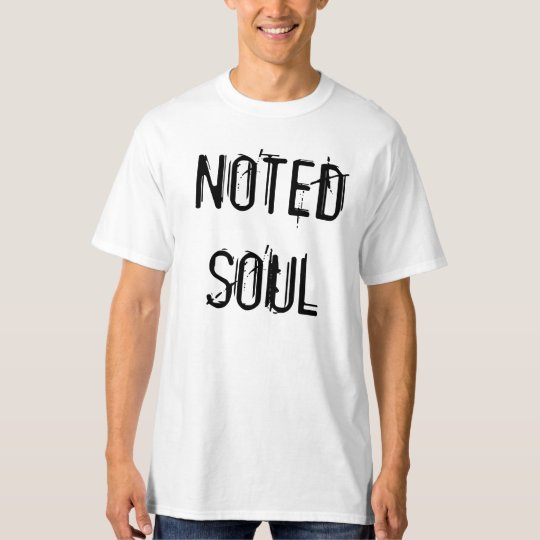 Noted Soul Facts Tee
