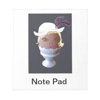 Notepad - Cartoon Eglantine the Eggcentric Egg