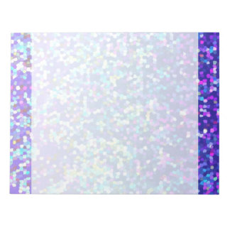 Notepad Glitter Graphic Background