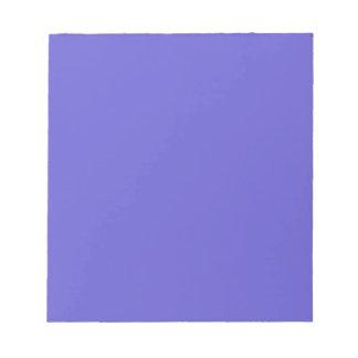 Notepad with Cornflower Blue Background