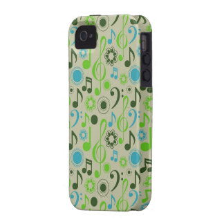 Notes & Clefs Case For The iPhone 4