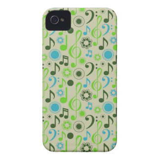 Notes & Clefs iPhone 4 Covers