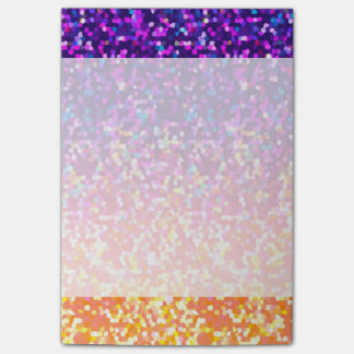 Notes Glitter Graphic