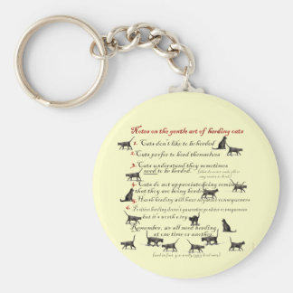 Notes on the Gentle Art of Herding Cats Key Ring