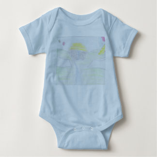 Notes on the Wall Baby Jersey Bodysuit