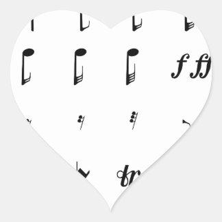 Notesai Heart Sticker