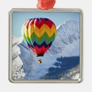Noth America, USA, Colorado, Mt. Crested Butte, 2 Christmas Ornament