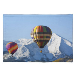 Noth America, USA, Colorado, Mt. Crested Butte, Placemat