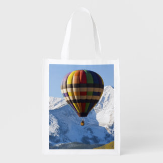 Noth America, USA, Colorado, Mt. Crested Butte, Reusable Grocery Bag