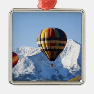 Noth America, USA, Colorado, Mt. Crested Butte, Silver-Colored Square Decoration