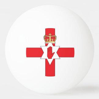Nothern Ireland flag Ping Pong Ball