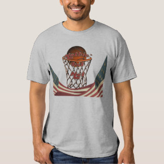 Nothin' But Net Basketball in Hoop Shirts