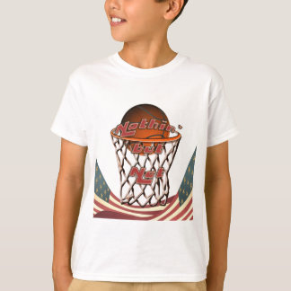 Nothin' But Net Basketball in Hoop Tee Shirts