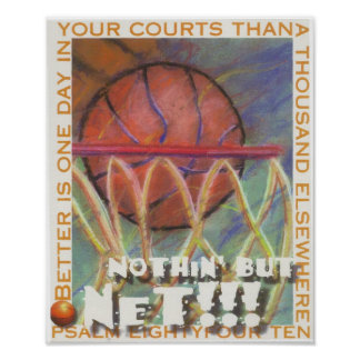 nothin but net print
