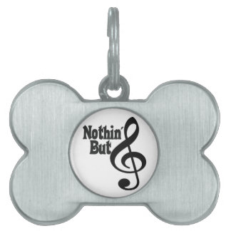 Nothin' But Treble Pet ID Tags