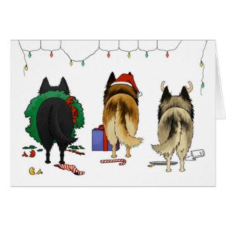 Nothin' Butt A Belgian Christmas Card