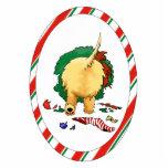 Nothin' Butt A Cairn Christmas Ornament Photo Sculpture