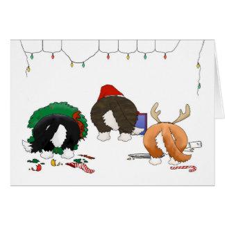 Nothin' Butt A Corgi Christmas Greeting Card