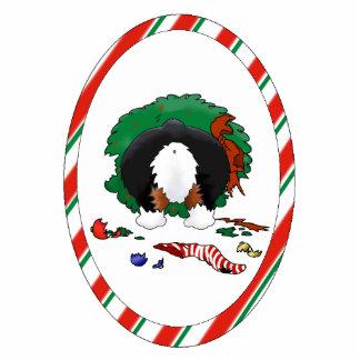 Nothin' Butt A Corgi Christmas Ornament Acrylic Cut Out