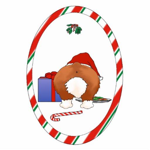 Nothin' Butt A Corgi Christmas Ornament Photo Sculptures