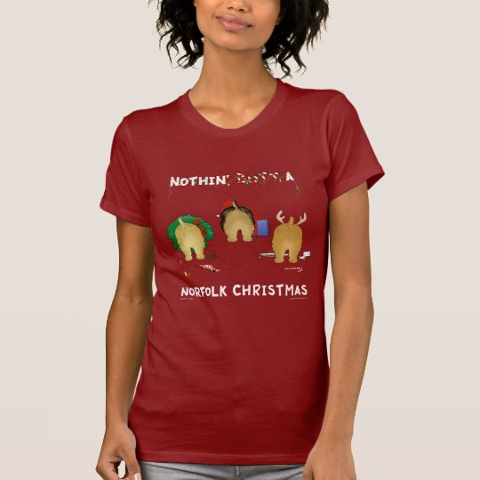 Nothin' Butt A Norfolk Christmas T-Shirt