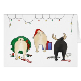 Nothin' Butt A Pug Christmas Cards