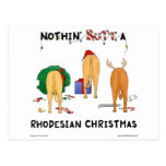 Nothin' Butt A Rhodesian Christmas Post Cards