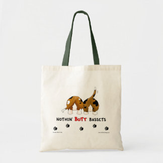 Nothin' Butt Bassets Tote Bag