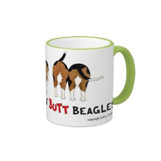 Nothin' Butt Beagles Ringer Mug