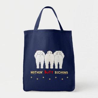 Nothin' Butt Bichons Tote Bag