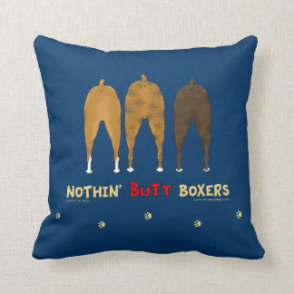 Nothin' Butt Boxers Cushion