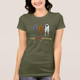 Nothin' Butt Greyhounds Dark Shirt