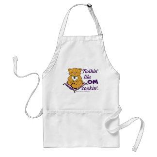 Nothin' Like OM Cookin'! Cute Zen Cat Apron