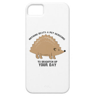 Nothing Beats a Hedgehog iPhone 5 Cases