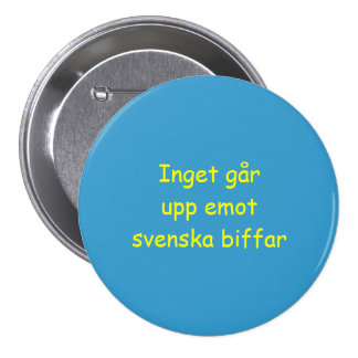 Nothing Beats Swedish Beef Button Lg