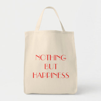 Nothing But Happiness Tote Tote Bags
