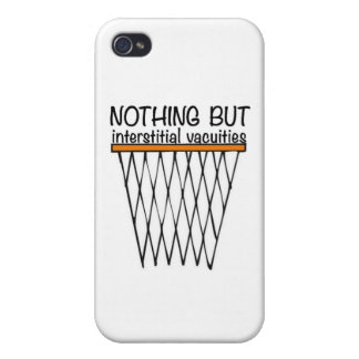 Nothing But Interstitial Vacuities iPhone 4/4S Cover
