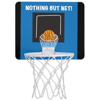 """Nothing But Net"" Mini Basketball Goal Mini Basketball Hoop"