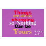 Nothing can be yours poster