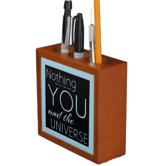 Nothing can get between you & the universe desk organiser