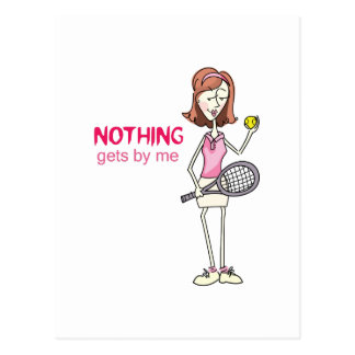 NOTHING GETS BY ME POSTCARDS