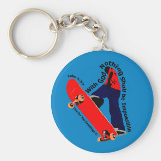 Nothing Impossible Key Chain