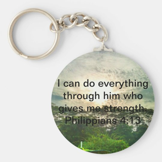 Nothing is impossible key ring
