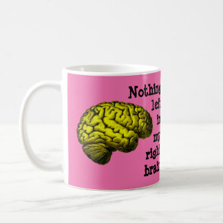 Nothing Left In My Right Brain... Coffee Mugs