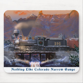 Nothing Like Colorado Narrow Gauge Mouse Pad
