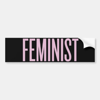 Nothing Like Feminism in the Morning Bumper Sticker