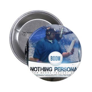 Nothing Personal 2K12 Kover Pinback Buttons