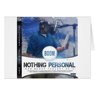 Nothing Personal 2K12 Kover Greeting Card